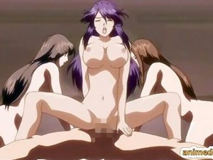 Group Sex;Hentai;Animated;Censored