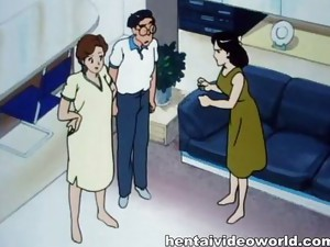 Couple;Big Tits;Hentai;Cartoon